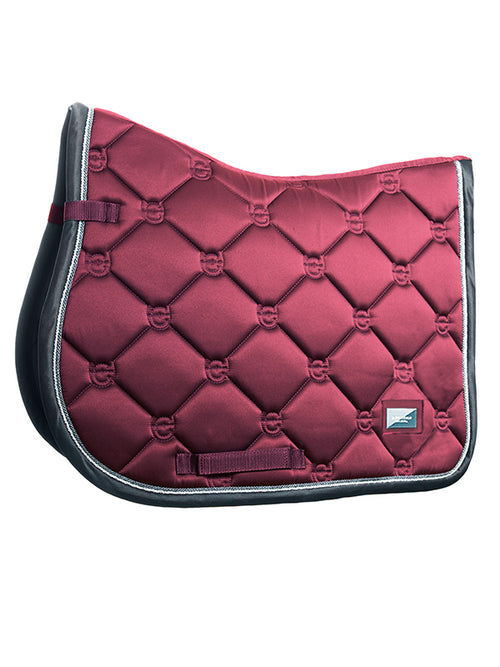 Equestrian Stockholm Jumping Saddle Pad Winter Rose
