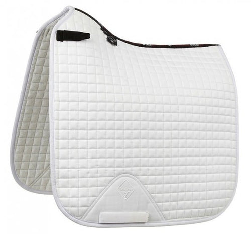 LeMieux Suede Dressage Saddle Pad White