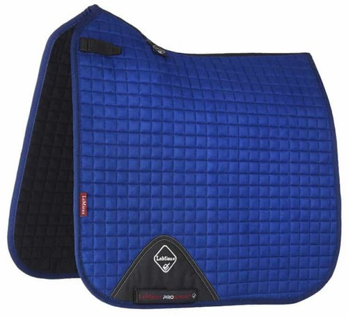 LeMieux Suede Dressage Saddle Pad Benetton Blue