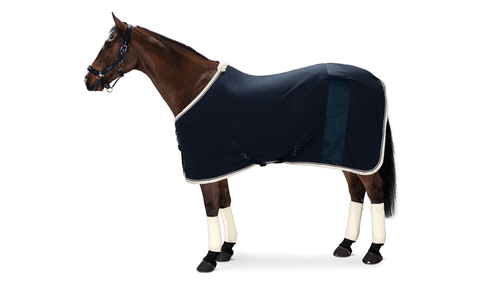 Eskadron Classic Sports SS19 Fleece Stripe Rug Navy