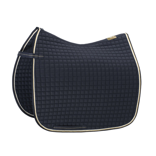 Eskadron Heritage Small Square Cotton Saddle Pad Oxford Navy
