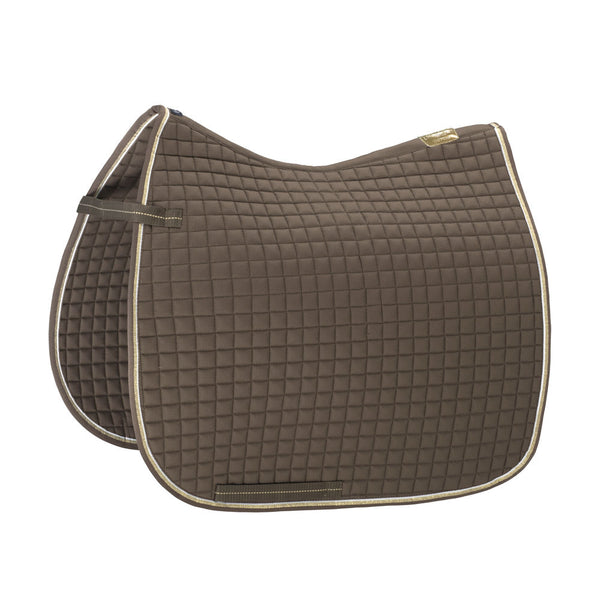 Eskadron Heritage Small Square Cotton Saddle Pad Deep Taupe