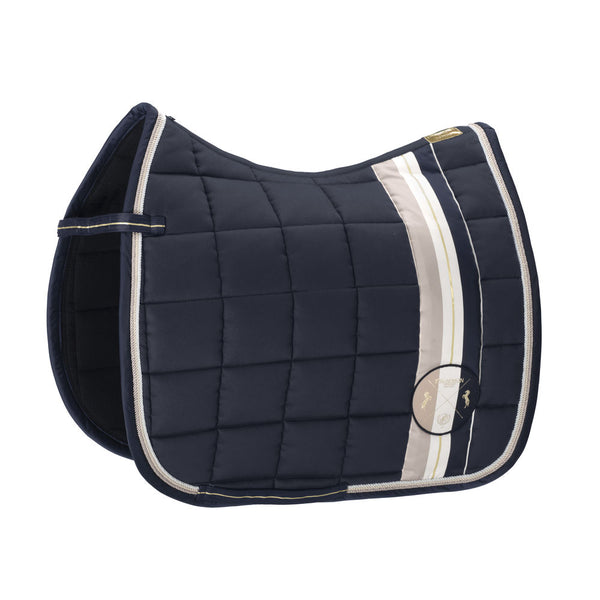 Eskadron Heritage Big Square Cotton Saddle Pad Oxford Navy