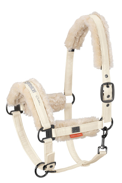 Eskadron Platinum 2019 Fleece Headcollar Off White