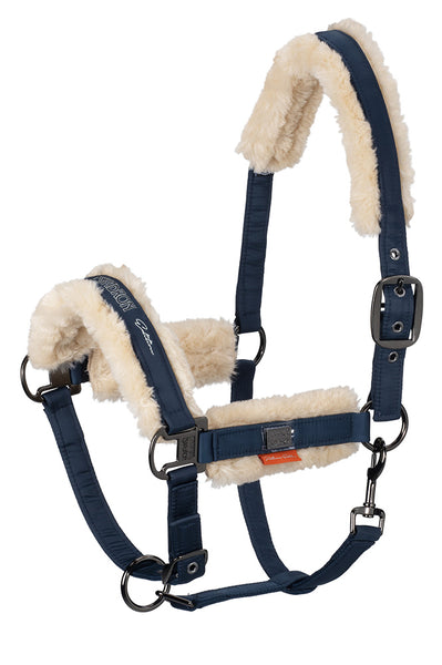 Eskadron Platinum 2019 Fleece Headcollar Navy