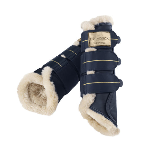 Eskadron Heritage Fleece Brushing Boots Oxford Navy