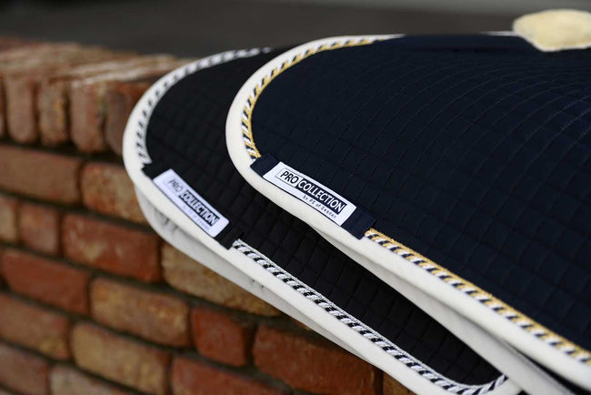 PS of Sweden Jumping Saddle Pad Pro Navy & White