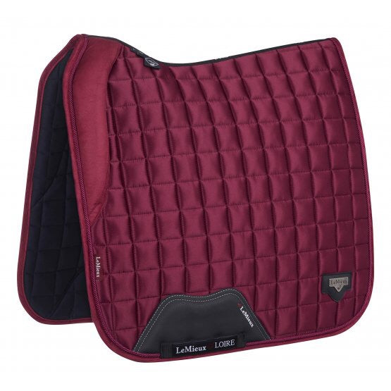 LeMieux Loire Padded Dressage Saddle Pad Mulberry