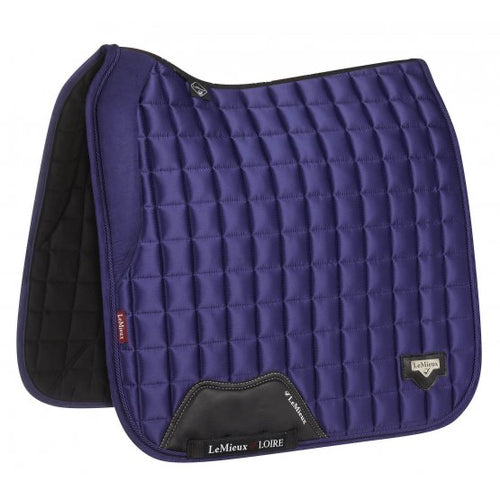 LeMieux Loire Padded Dressage Saddle Pad Ink Blue