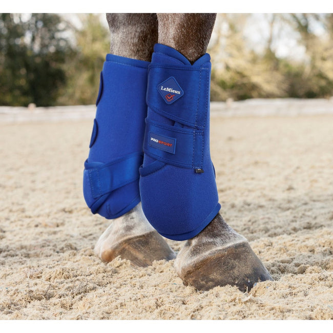LeMieux Support Boots Benetton Blue