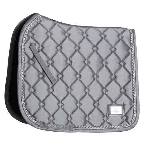 SD Design Gem Dressage Saddle Pad Silver