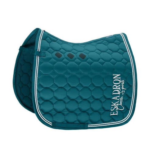 Eskadron Classic Sports Glossy Comb Saddle Pad Teal Blue