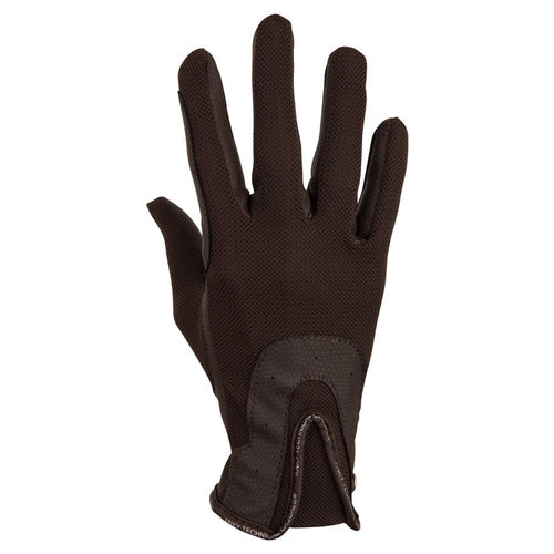 ANKY Riding Gloves Tawny Brown