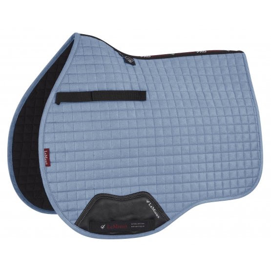 LeMieux Suede All Purpose Saddle Pad Ice Blue