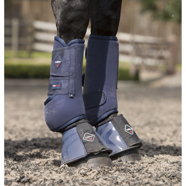 LeMieux Support Boots Navy