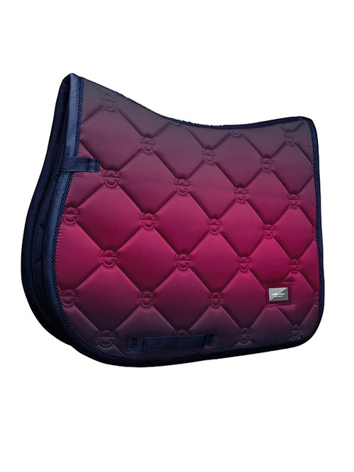 Equestrian Stockholm Jumping Saddle Pad Faded Fuchsia