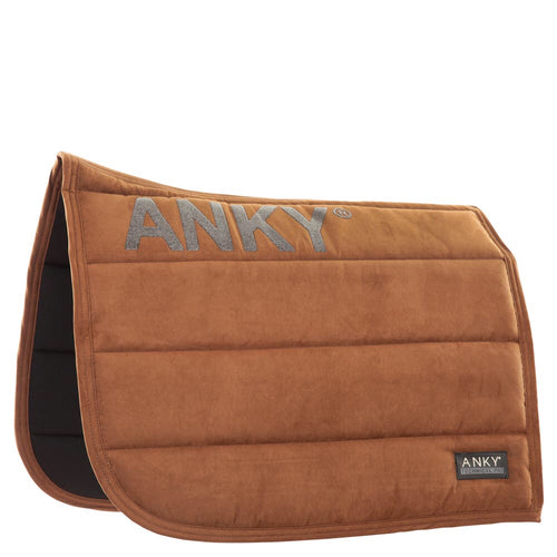ANKY Dressage Saddle Pad Saddle Brown