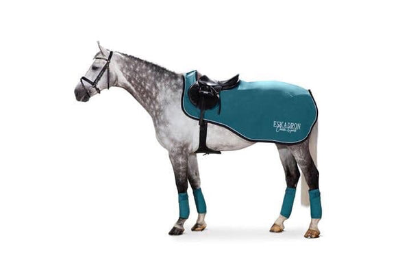 Eskadron Classic Sports Exercise Rug Teal Blue