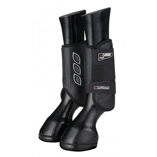 LeMieux Carbon Air Eventing Boots Black