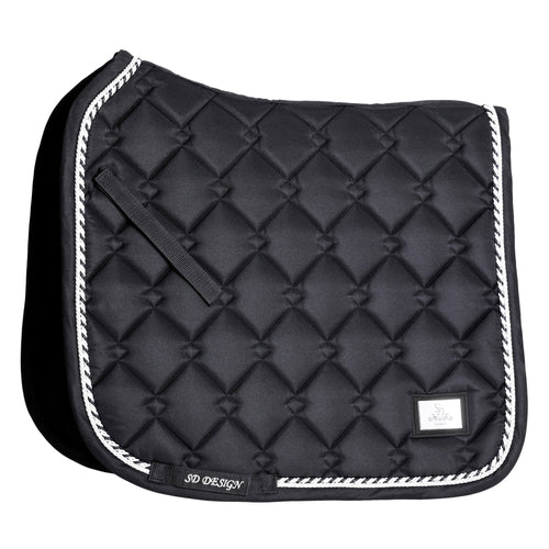 SD Design Gem Dressage Saddle Pad Onyx