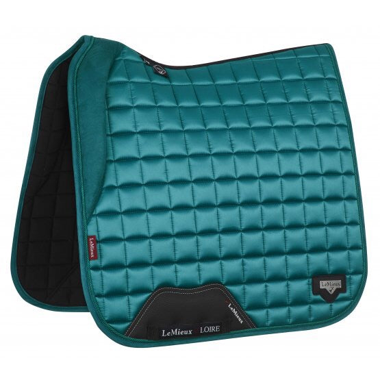 LeMieux Loire Padded Dressage Saddle Pad Peacock
