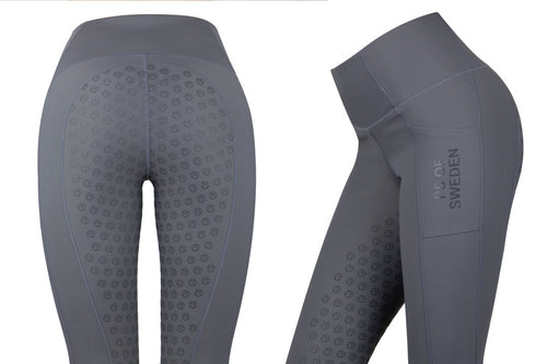 PS of Sweden Jasmine Riding Tights Charcoal