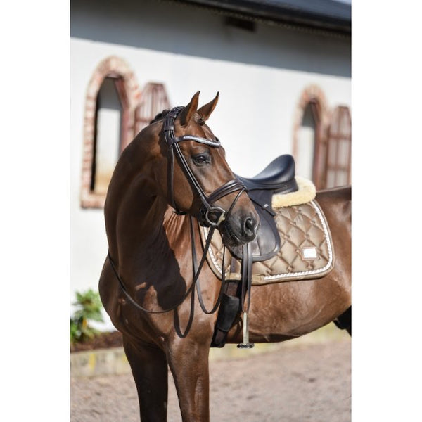 SD Design Gem Dressage Saddle Pad Smokey Quartz