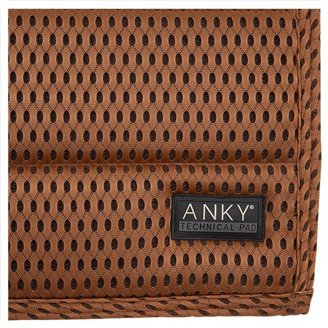 ANKY Limited Edition Air Stream Dressage Saddle Pad Cognac