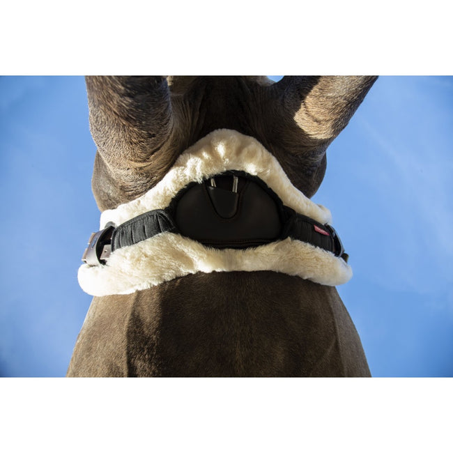 LeMieux Lambswool Anatomic Stud Guard Cover Long Natural