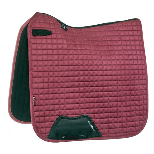 LeMieux Suede Dressage Saddle Pad French Rose