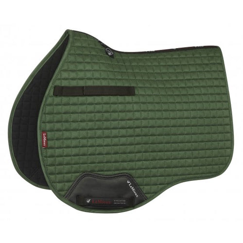 LeMieux Suede All Purpose Saddle Pad Hunter Green