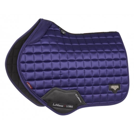 LeMieux Loire Padded Jumping Saddle Pad Ink Blue