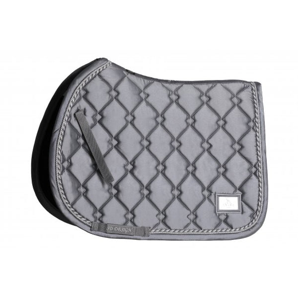 SD Design Gem Jumping Saddle Pad Silver