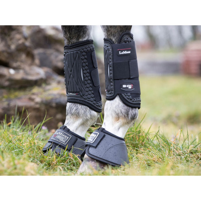 LeMieux Shoc Air Eventing Boots Black