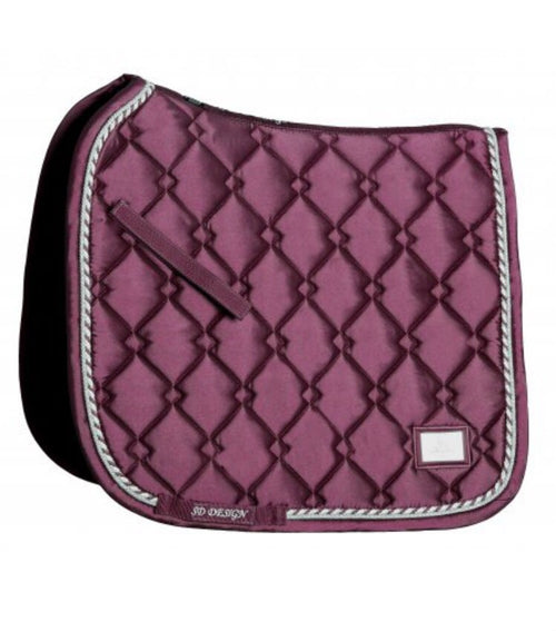 SD Design Gem Dressage Saddle Pad Ruby