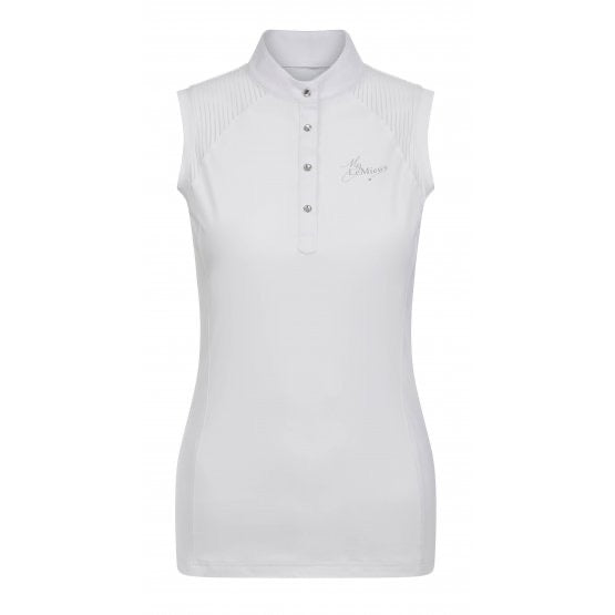 LeMieux Chloe Sleeveless Show Shirt White