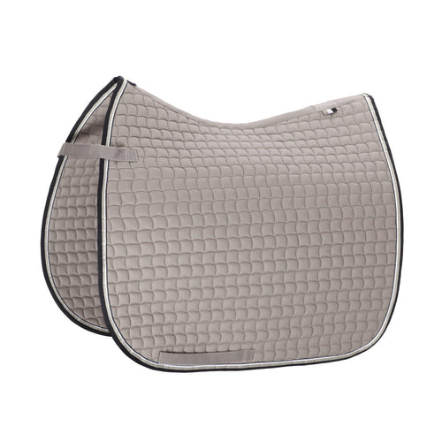 Eskadron Classic Sports Cotton Small Square Saddle Pad Soft Grey