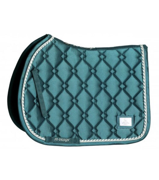 SD Design Gem Jumping Saddle Pad Green Jade
