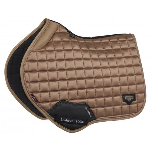 LeMieux Loire Padded Jumping Saddle Pad Champagne