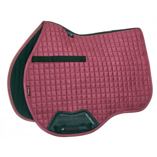 LeMieux Suede All Purpose Saddle Pad French Rose