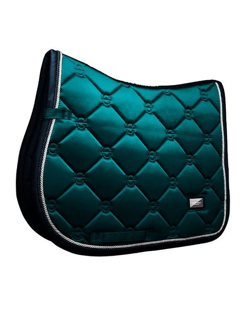 Equestrian Stockholm Jumping Saddle Pad Emerald