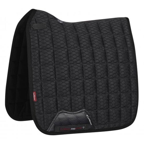 LeMieux Carbon Mesh Dressage Saddle Pad Black