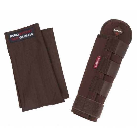LeMieux Tail Guard With Bag Brown