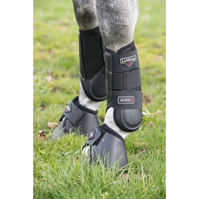 LeMieux Stealth Air Eventing Boots Black