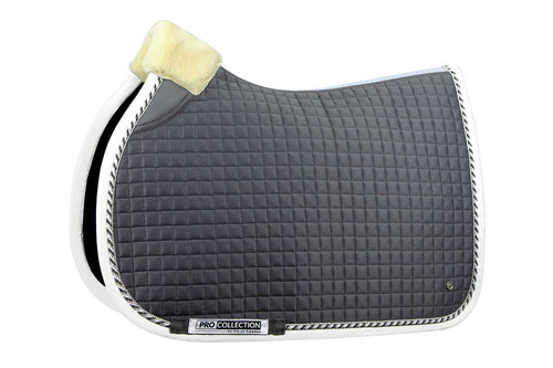 PS of Sweden Jumping Saddle Pad Pro Grey & White