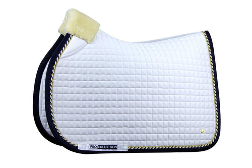 PS of Sweden Jumping Saddle Pad Pro White & Navy