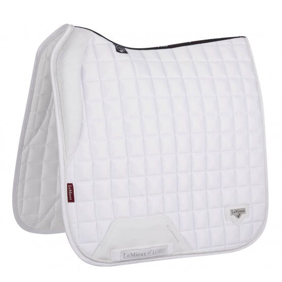 LeMieux Loire Padded Dressage Saddle Pad White