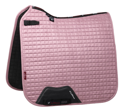 LeMieux Suede Dressage Saddle Pad Musk