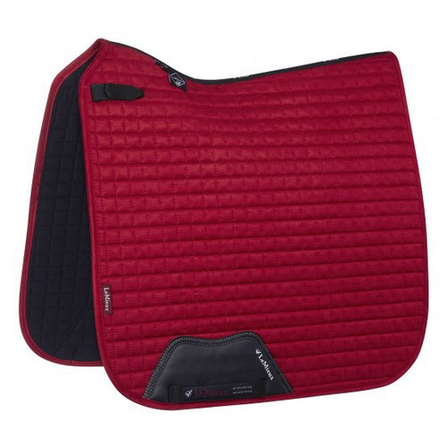 LeMieux Suede Dressage Saddle Pad Chilli