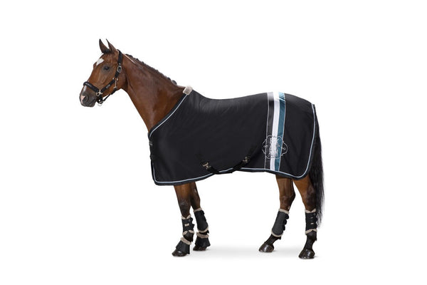 Eskadron Classic Sports Jersey Stripe Fleece Rug Caviar